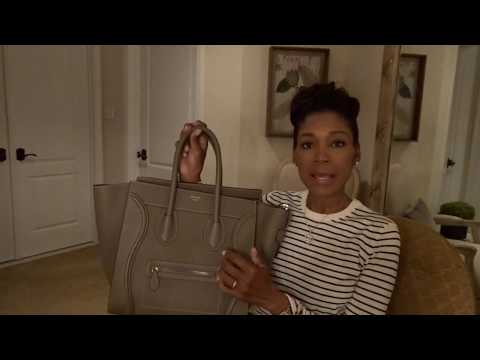 "My New ""CELINE MINI LUGGAGE' 