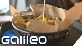 Pommes, Mayo oder Ketchup - was wird schneller hergestellt? | Galileo | ProSieben