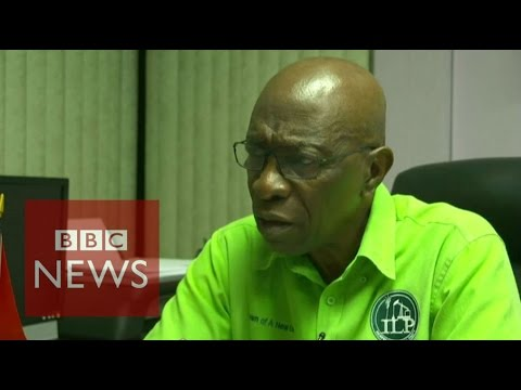 FIFA corruption: Jack Warner (FULL) interview - BBC News