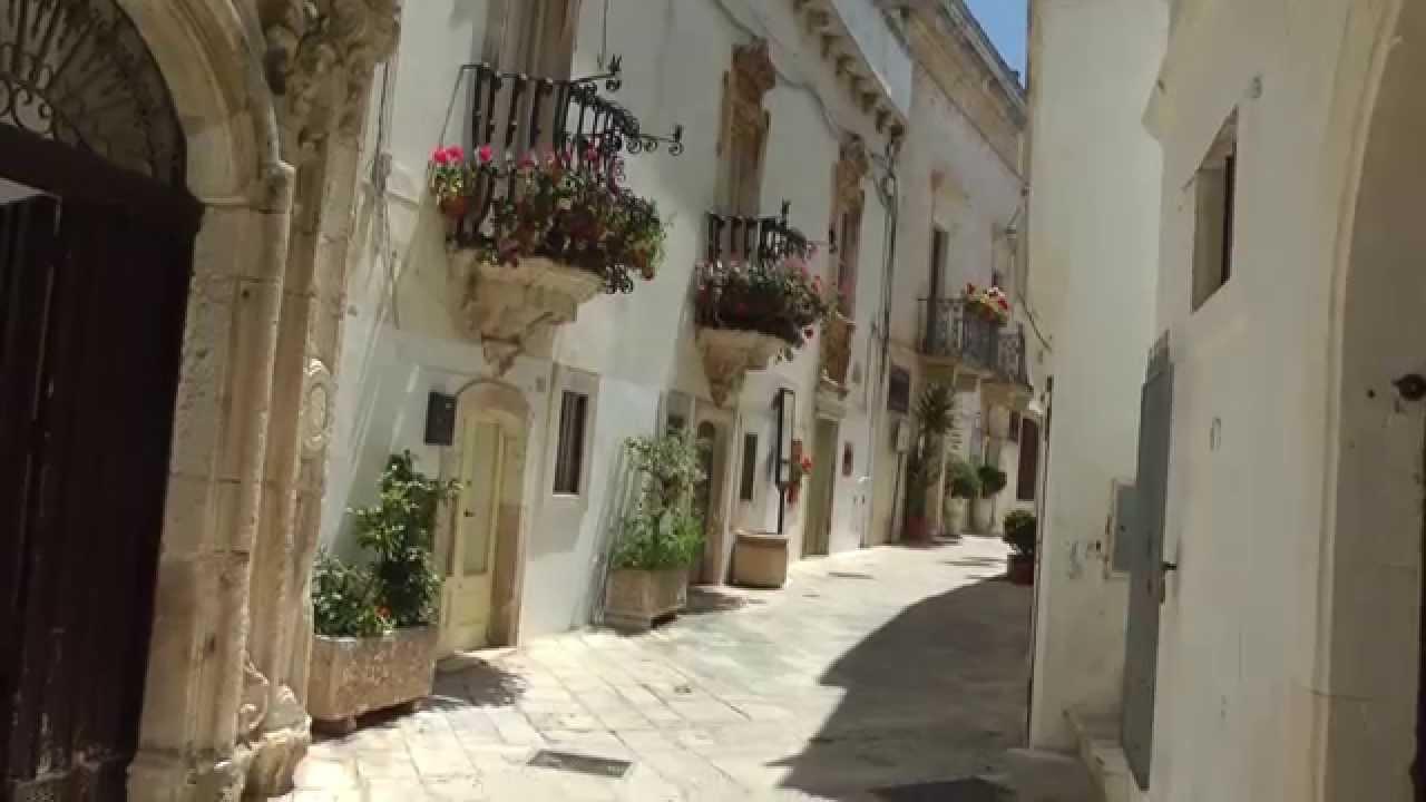 Locorotondo White Town In Puglia Italy Youtube