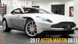 An Overview of New 2017 Aston Martin DB11/START/REV & DRIVE