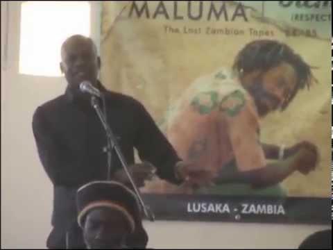 LARRY MALUMA / Media Briefing in Lusaka, Zambia P4