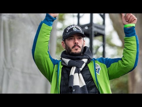 Interview: Brad Evans on the fan support at the club's Championship March and Rally