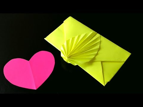 Easy origami Envelope Tutorial   Without Glue and Tape