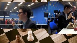 AMAZING Attack!! Fabiano Caruana vs Alireza Firouzja    Tata Steel Chess 2020 - R10
