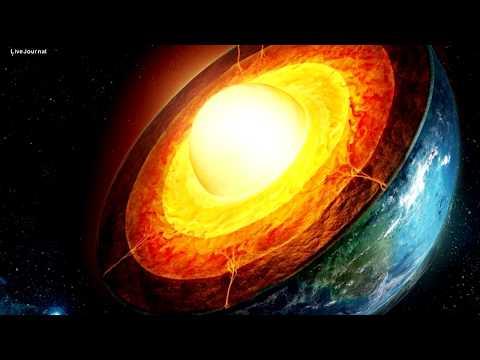 Ядро Земли начало внезапно увеличиваться и нагреваться.