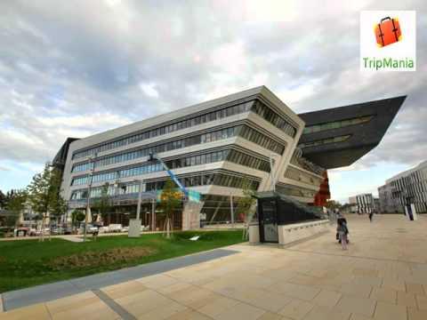 Vienna University compus (WU University) Vienna University of Economics and Business