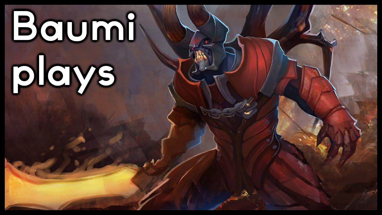 Dota 2 EASIEST HERO IN THE GAME Baumi Plays Doom YouTube