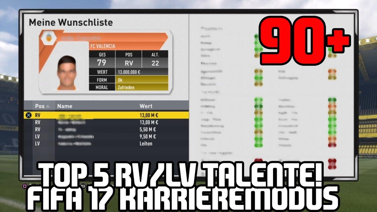 Fifa 17 Rv Talente
