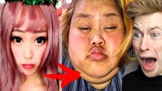 MIT Make-Up vs. OHNE Make-Up (ѕchоckiеrend!)