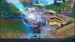 Playign As Thanos In Fortnite Battle Royale