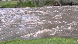 Río Tomebamba caudaloso (Puertas del Sol)