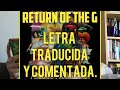 RETURN OF THE G - Outkast Al español