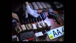видео На Івано-Франківщині СБУ вилучила арсенал зброї та боєприпасів