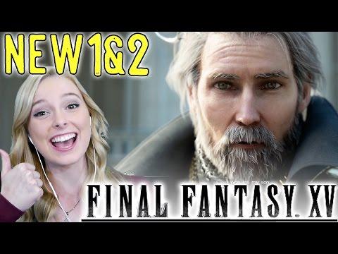 Final Fantasy XV PART 1 *AND* 2 Gameplay Walkthrough Tutorial
