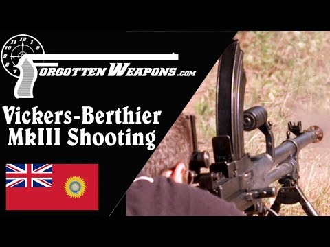Shooting the Ishapore MkIII Vickers-Berthier LMG