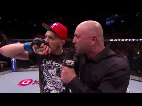UFC 178: Conor McGregor Octagon Interview