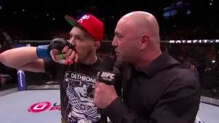 Conor McGregor joins Joe Rogan to reflect on his big win over No. 5 featherweight Dustin Poirier at UFC 178.