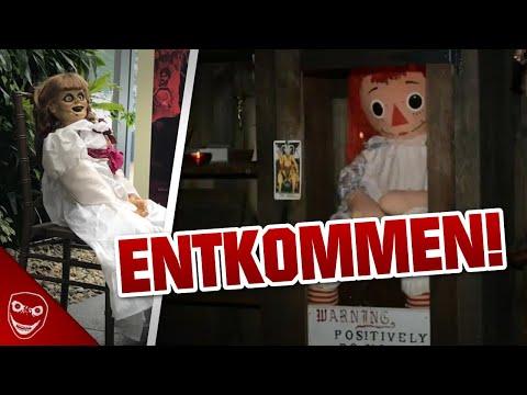 Die echte Annabelle Puppe ist entkommen! Was steckt dahinter?