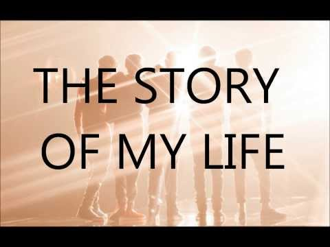 one direction  story of my life con letra