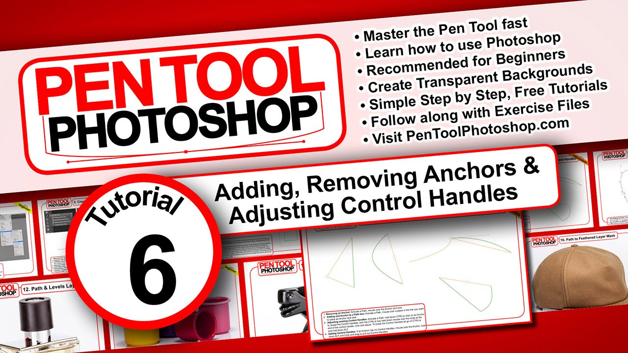 Pen tool photoshop tutorials 06 adding removing anchors pen tool photoshop tutorials 06 adding removing anchors adjusting control handles baditri Choice Image