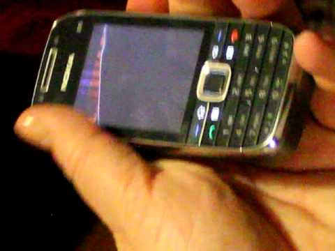 Nokia E75 broken screen