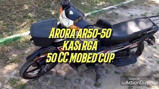 Arora ar50-50 Kasırga 50cc cup motosiklet incelemesi