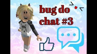 How to solve the chat Bug in Roblox #3