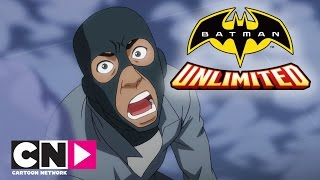 Batman Unlimited | Nightwing And Red Robin Vs Silverback | Cartoon Network