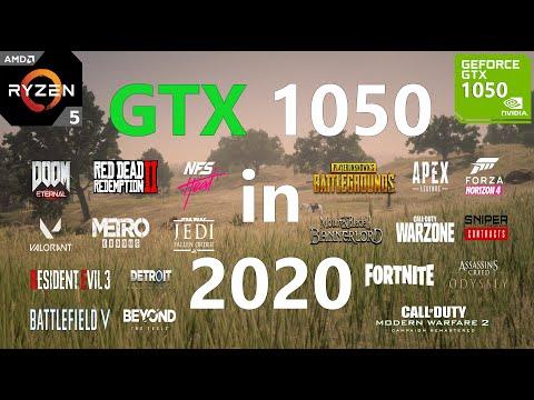 GTX 1050 Test in 25 Games in 2020