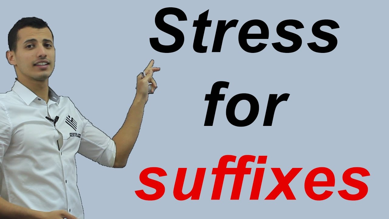 Syllable stress rules for suffixes! - YouTube
