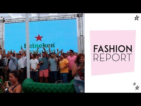 Fashion Report: Champions Live Chile por Heineken