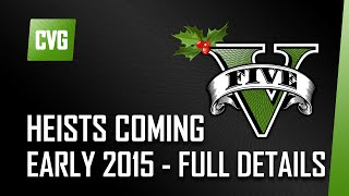 GTA V o'clock: Heists due early 2015! Plus a Christmas stunts spectacular