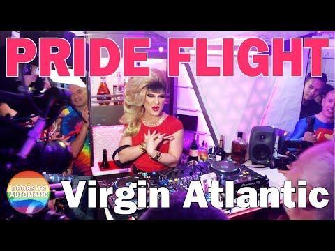 Virgin Atlantic Pride Flight - London To New York - 28 June 2019