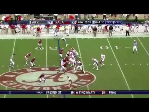 2009 Arkansas vs. #3 Alabama (HD)