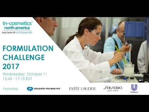 The start of this year's Formulation Challenge | in-cosmetics North America