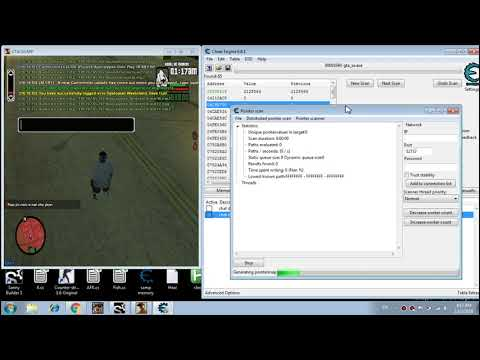 [SA:MP] Cheat Engine - Chat Open Detection Pointer