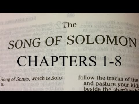 Song of Solomon, chapters 1-8