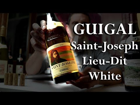 E. Guigal Saint-Joseph Lieu Dit - Stunning Northern-Rhône White Wine - click image for video