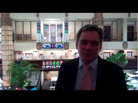 Nieuwe CEO Rexel Group Maurits van Brunschot bezoekt NYSE Euronext Amsterdam