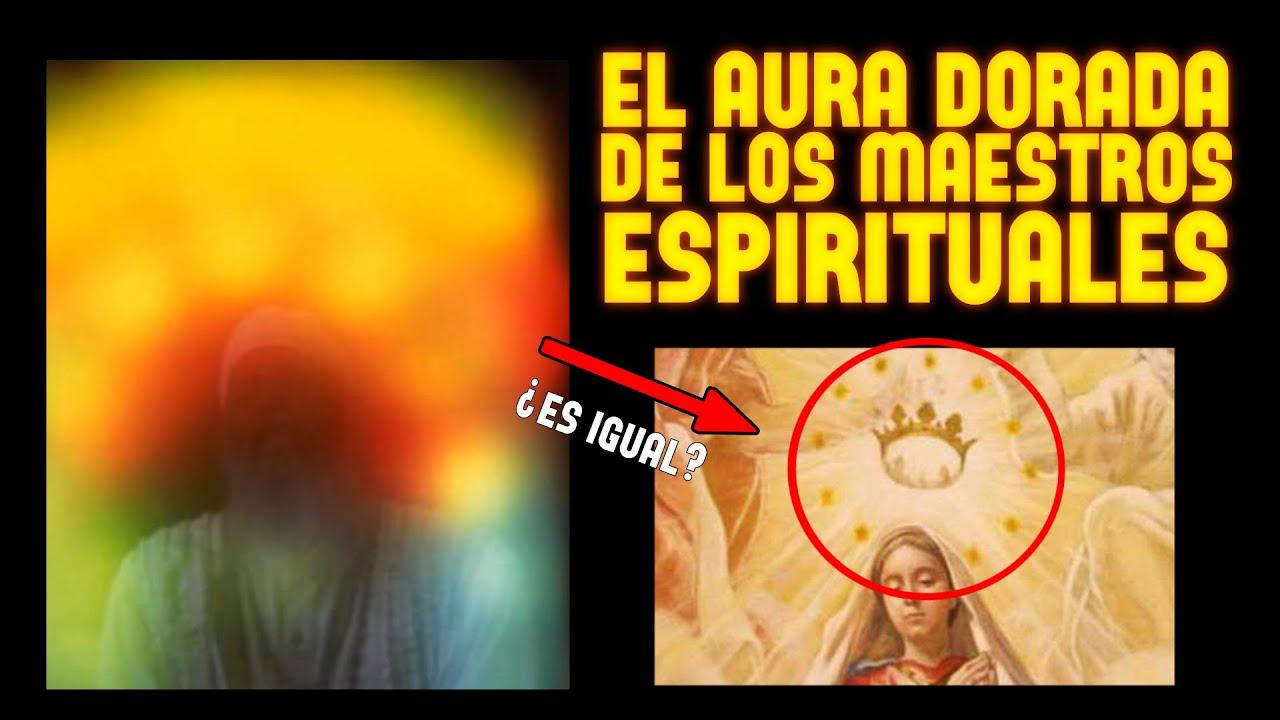 Aura Impresionante en Maestros Espirituales • Fotos Reales