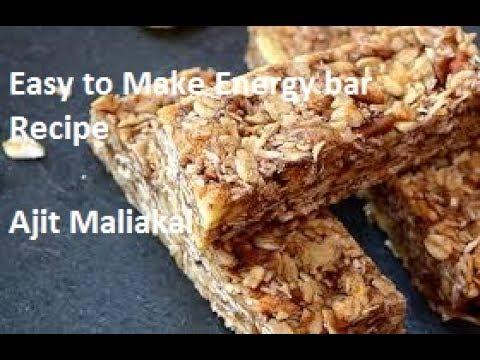 how to make energy bars youtube