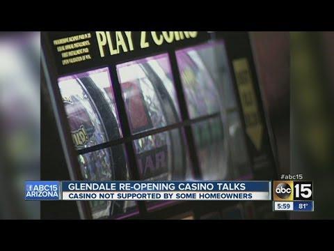 Glendale May Open Casino Talks