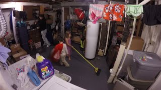 Cleaning the Basement - Time Lapse