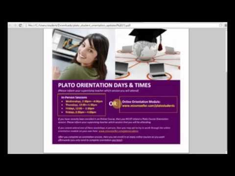 Learn4Life - PLATO Onine Courses - Student Orientation