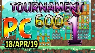 Angry Birds Friends Level 1 PC Tournament 600 Highscore POWER-UP walkthrough #AngryBirds