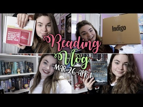 SO MANY UNBOXINGS | Reading Vlog: March 26-April 1