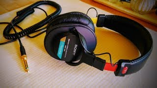Sony MDR7506 Professional Large Diaphragm Headphone Review 2019 - Sony MDR7506 Review 2019