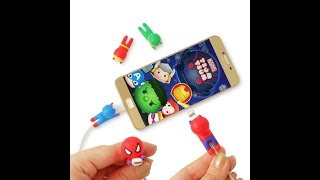 Cable Bite Super Heroes / Pelindung Kabel / Cable Saver / Cable Protector