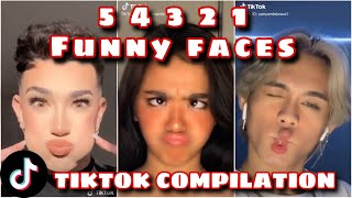 """Watch the """"5 4 3 2 1"""" funny faces tiktok compilation!! #tiktok #funny #countdown hope you enjoy!! if so, like video and ..."""
